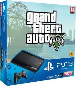 Sony PlayStation 3 Super Slim - 500GB GTA V Bundle schwarz