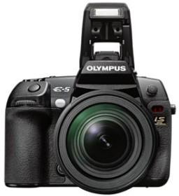 Olympus E-5 schwarz mit Objektiv Fremdhersteller