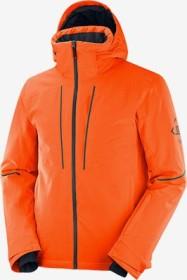 Salomon Edge Skijacke red orange/ebony (Herren) (C13968)