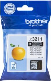 Brother Tinte LC3211BK schwarz