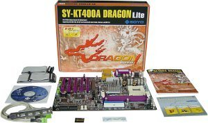 Soyo SY-KT400A Dragon Lite (PC-3200 DDR)
