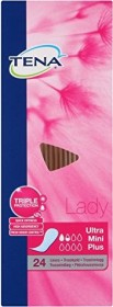 Tena Lady Discreet Ultra mini Plus panty liners, 28 pieces