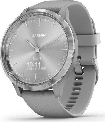 Garmin vivomove 3 Aktivitäts-Tracker powder grey/silver (010-02239-00)