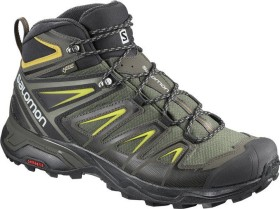 Salomon X Ultra 3 Mid GTX castor gray/black/green sulphur (Herren) (401337)