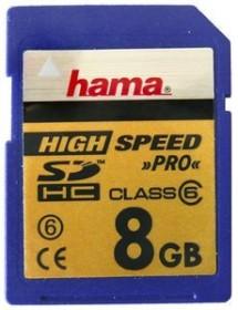 Hama HighSpeed SDHC 8GB, Class 6 (90806)