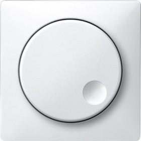 Merten Antik Zentralplatte, polarweiß (MEG5250-4019)