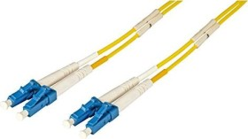 Secomp optical fibre Duplex cable, OS2, 2x LC plug/2x LC plug, 1m (21.06.0901)