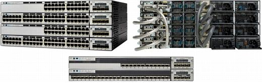Cisco Catalyst C3750X-12S-S, 12-Port, managed, stackable (WS-C3750X-12S-S)
