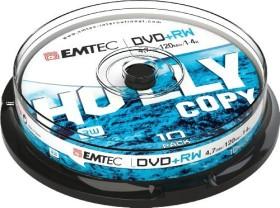 Emtec DVD+RW 4.7GB 4x, 10-pack Spindle (ECOVPRW47104CB)