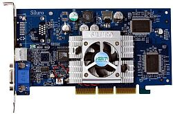 ABIT Siluro GF4-T440, GeForce4 MX440, 64MB DDR, TV-out, AGP