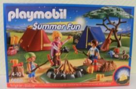 playmobil Summer Fun - Zeltlager mit LED-Lagerfeuer (6888)