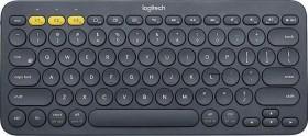 Logitech K380 Multi-Device Bluetooth Keyboard schwarz, DE (920-007566)