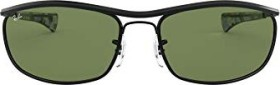 Ray-Ban RB3119M Olympian I Deluxe 62mm black/green classic (RB3119M-918214)