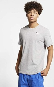 Nike Dri-FIT Shirt kurzarm dark heather/black (Herren) (AR6029-063)