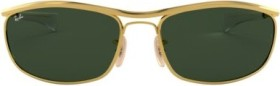 Ray-Ban RB3119M Olympian I Deluxe 62mm gold/green classic (RB3119M-001/31)