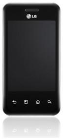 LG Optimus Chic E720 schwarz