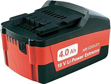 Metabo power tool battery 18V, 4.0Ah, Li-Ion (6.25527.00) -- via Amazon Partnerprogramm