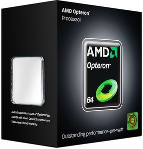 AMD Opteron 1381, 4x 2.50GHz, Socket AM3, boxed (OS1381WGK4DGIBOX)