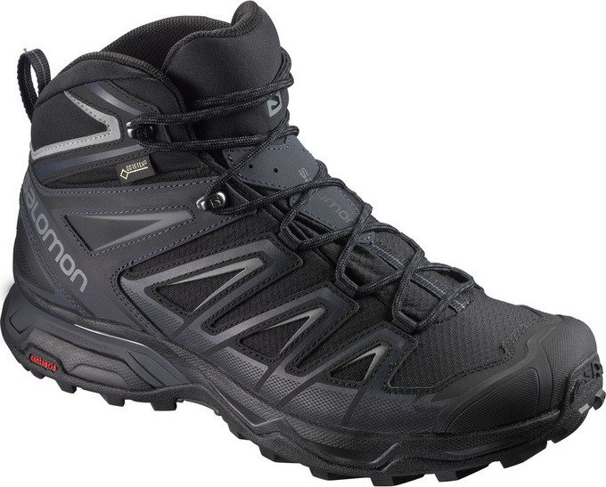 Salomon X Ultra wide mid 3 GTX black (men) (401293)