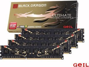 GeIL Black Dragon DIMM kit 16GB, DDR3-1333, CL9-9-9-28 (GB316GB1333C9QC)