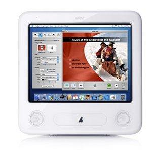 """Apple eMac G4, 17"""", 1.00GHz, 128MB RAM, 40GB HDD, CD (M9251*/A)"""