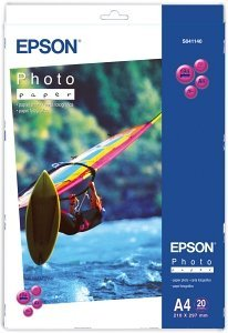 Epson S041140 photo paper A4, 194g, 20 sheets