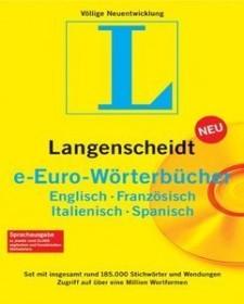 Langenscheidt e-Euro dictionary set 4.0 (German) (PC) (LA90937)