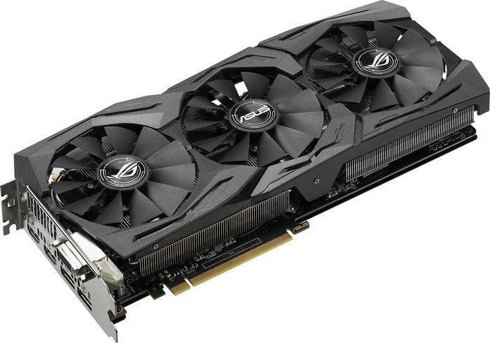 ASUS ROG Strix Radeon RX 480 OC, ROG-STRIX-RX480-O8G-GAMING, 8GB GDDR5, DVI, 2x HDMI, 2x DisplayPort (90YV09K0-M0NA00)