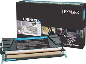 Lexmark Return Toner C748H1CG cyan hohe Kapazität