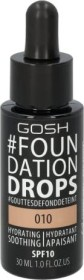 Gosh Foundation Drops 010 tan, 30ml