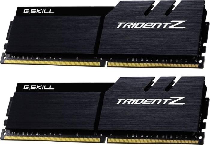 G.Skill Trident Z black/black DIMM kit 32GB, DDR4-4000, CL19-19-19-39 (F4-4000C19D-32GTZKK)