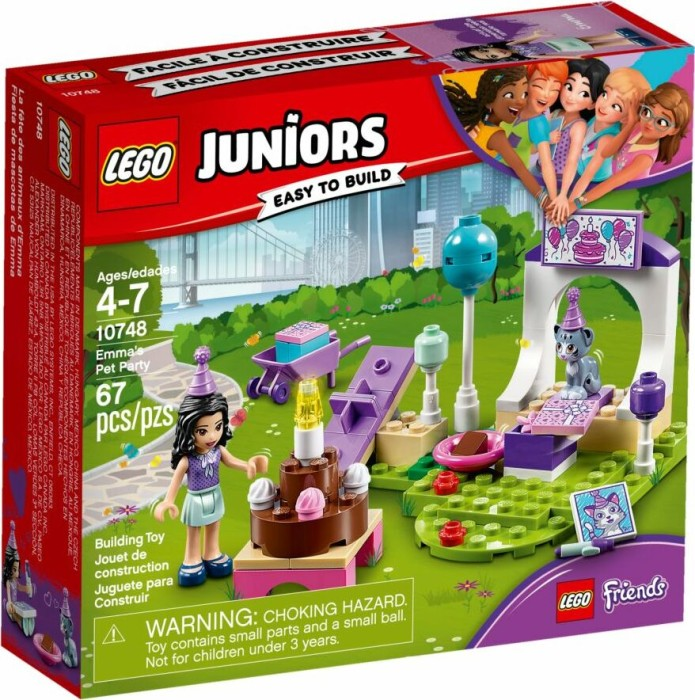 NEU /& OVP ! 10748 Emmas Party LEGO® Juniors