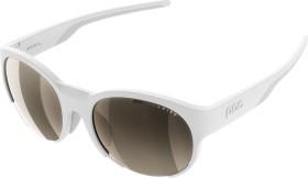 POC Avail hydrogen white/clarity mtb silver mirror cat 2