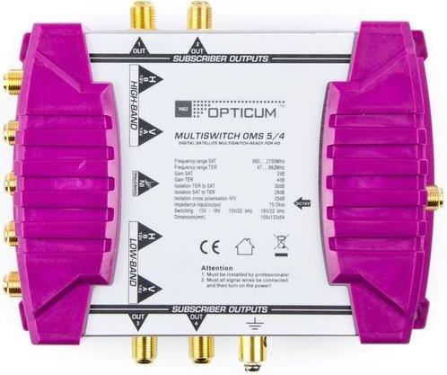 Opticum OMS 5/4p ohne LNB (2000)