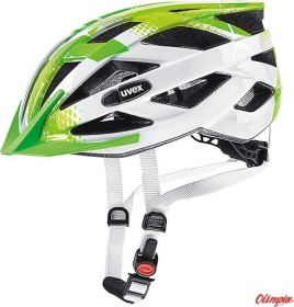 UVEX Air Wing Kinderhelm lime/white