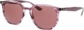 Ray-Ban RB4306 54mm burgundy red striped-havana/dark violet classic (RB4306-643175)
