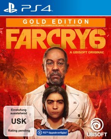 Far Cry 6 - Gold Edition (PS4)