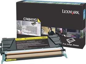 Lexmark Return Toner C748H1YG gelb hohe Kapazität