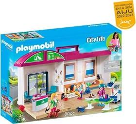 playmobil City Life - Mitnehm-Tierklinik (70146)