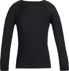 Icebreaker Merino 200 Oasis Crewe Shirt langarm schwarz (Junior) (104501-001)