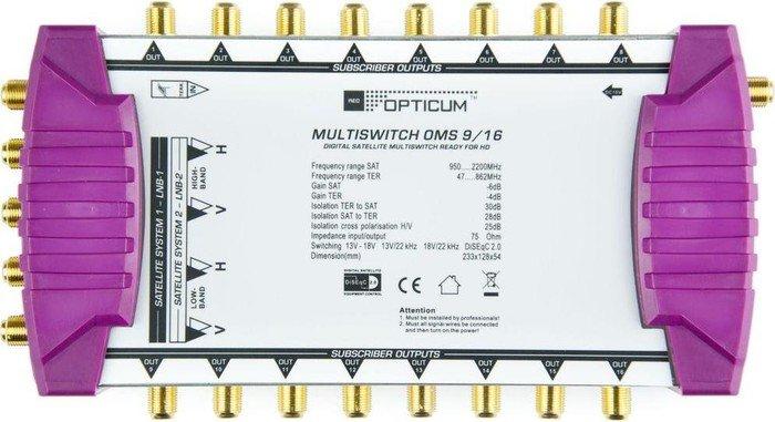 Opticum OMS 9/16p ohne LNB (2009)