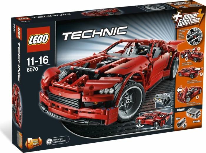 LEGO - Technic - Supercar (8070) -- via Amazon Partnerprogramm