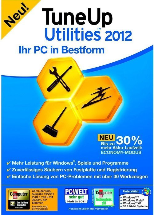 S.A.D.: TuneUp Utilities 2012, 3 User (German) (PC) (02059)