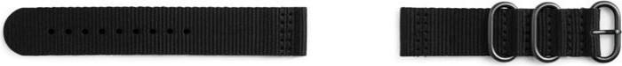 Samsung Strap Studio Premium NATO-Armband für Gear Sport schwarz (GP-R600BREECAA)