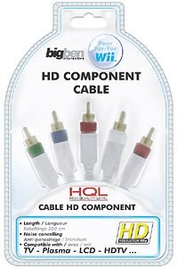 BigBen HD component video cable (Wii) (BB251302)