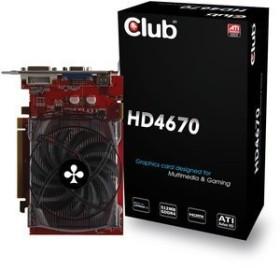 Club 3D Radeon HD 4670, 512MB DDR4, VGA, DVI, HDMI (CGAX-4672IM)