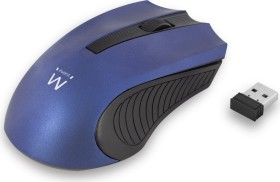 Ewent Wireless Mouse 1000dpi blau, USB (EW3228)