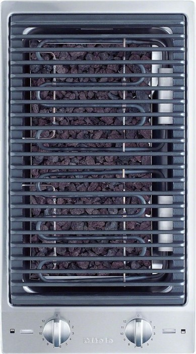 Miele CS 1312 BG grill na lawę kamienna Domino integralne sterowanie