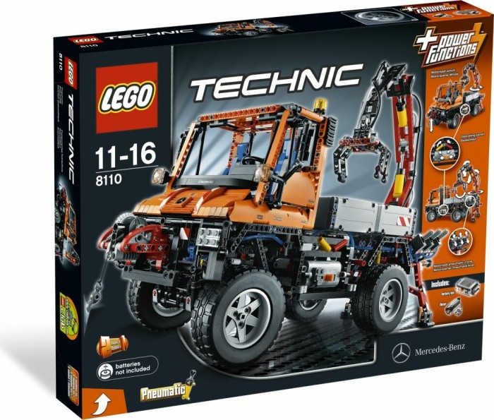 LEGO - Technic - Unimog U400 (8110) -- via Amazon Partnerprogramm