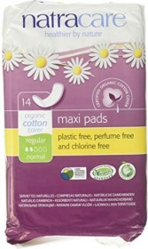 natracare Maxi sanitary pads, 14 pieces